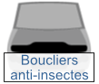 boucliers anti-insectes